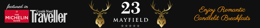 23 Mayfield Luxury Edinburgh Accommodation Logo